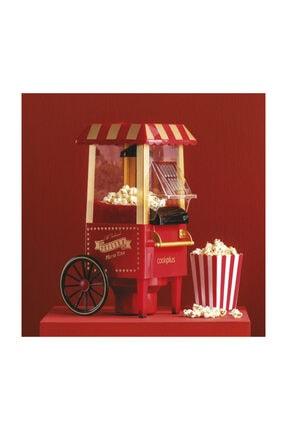 Cookplus Kırmızı Mısır Patlatma Pop Corn Makinesi