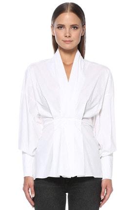 Network Kadın Beyaz Gömlek 1076416