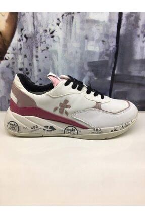 Premiata Kadın Beyaz Sneaker