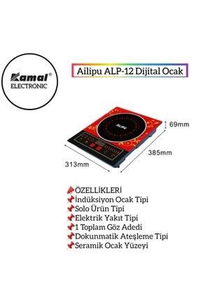 Ailipu Aılıpu Alp-12 Tek Gözlü Dokunmatik Elektrikli Indiksiyon Ocak