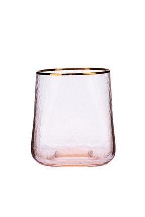 Karaca Misty Cam Su Bardağı Turuncu