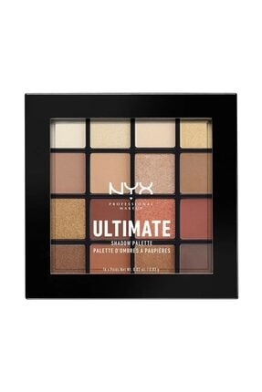 NYX Professional Makeup Nyx Ultimate Shadow Pallette Warm Neutrals 16 Renk Göz Farı Paleti