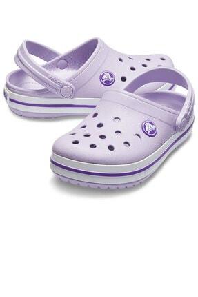 Crocs Kids Unisex Çocuk Mor Spor Terlik