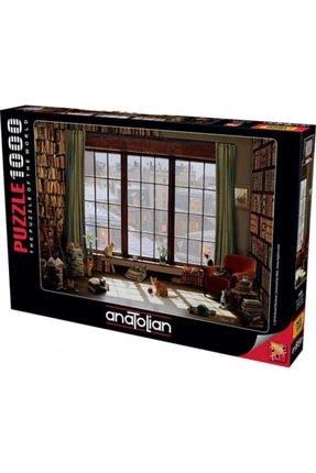 Anatolıan Pencere Kedileri Window Cats 1000 Parça Puzzle - Yapboz