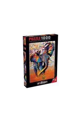 Anatolıan Afrika Renkleri African Colours 1000 Parça Puzzle - Yapboz