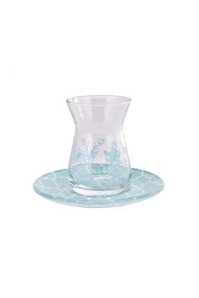 Karaca Zena 12 Parça Çay Seti Mint
