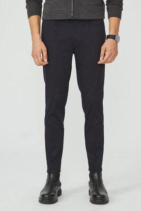 Avva Erkek Lacivert Yandan Cepli Pileli Slim Fit Pantolon A02Y3075