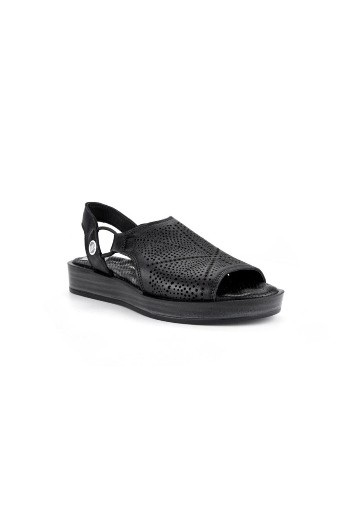Mammamia Kadın Siyah Sandalet S1640 2