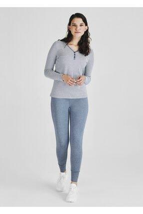 Pheri Kadın İndigo Pijama Takım