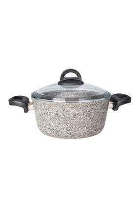 Karaca Dark Silver Bio Granit 24 cm Tencere