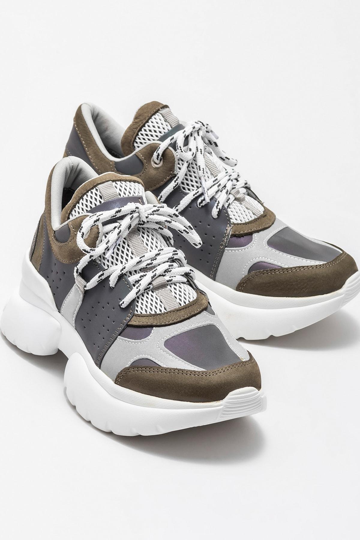 Elle Shoes TIFFANI Yeşil Kadın Ayakkabı 2