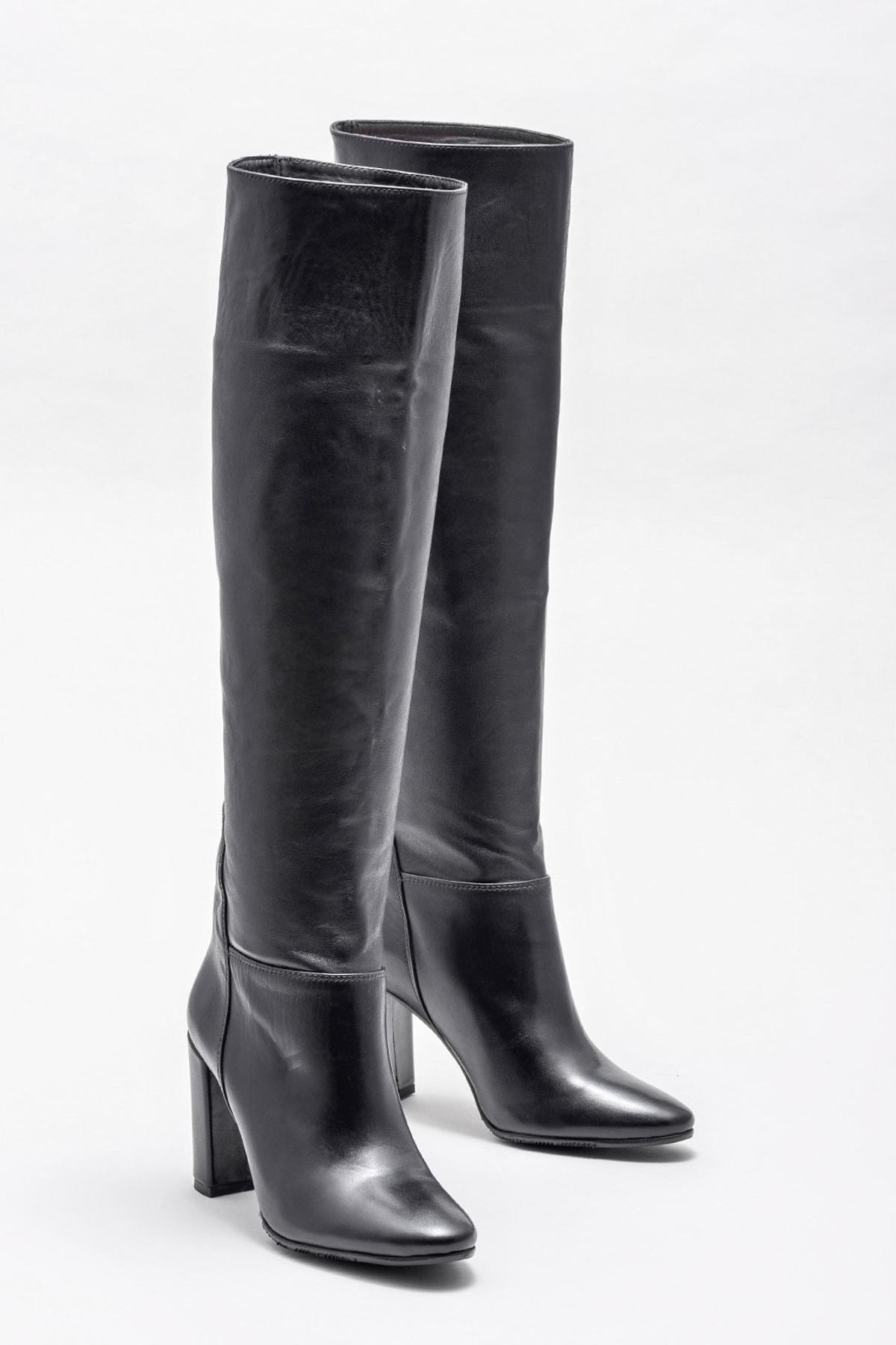 Elle Shoes Kadın DAUNAR Çizme 20KMK308-3657 1