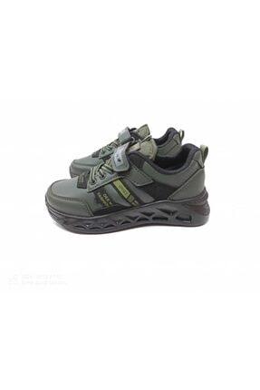Almera Erkek Çocuk Haki Spor Ayakkabısı