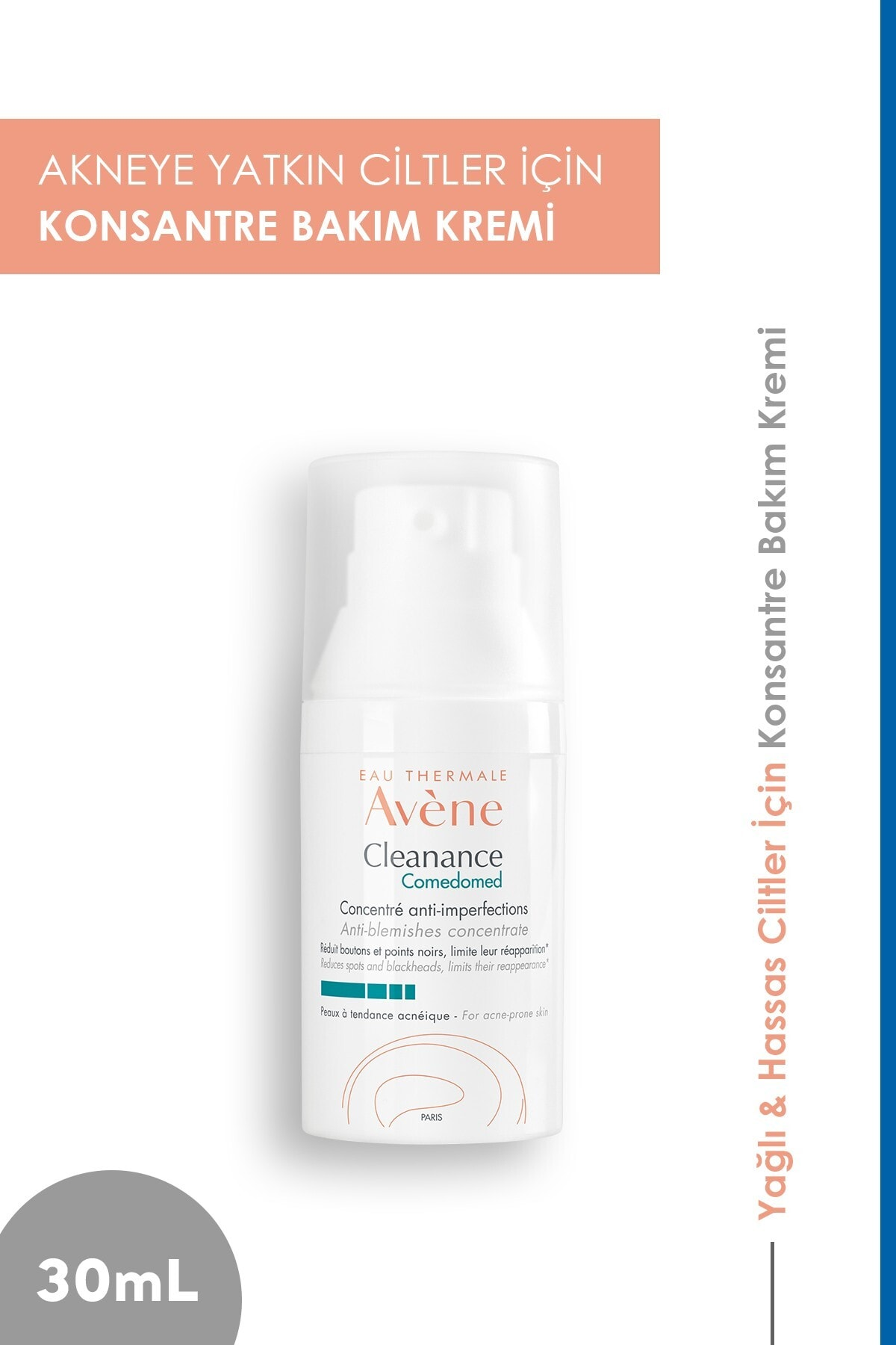 Avene Cleanance Comedomed Anti-blemishes Concentrate 30 Ml 00604 1