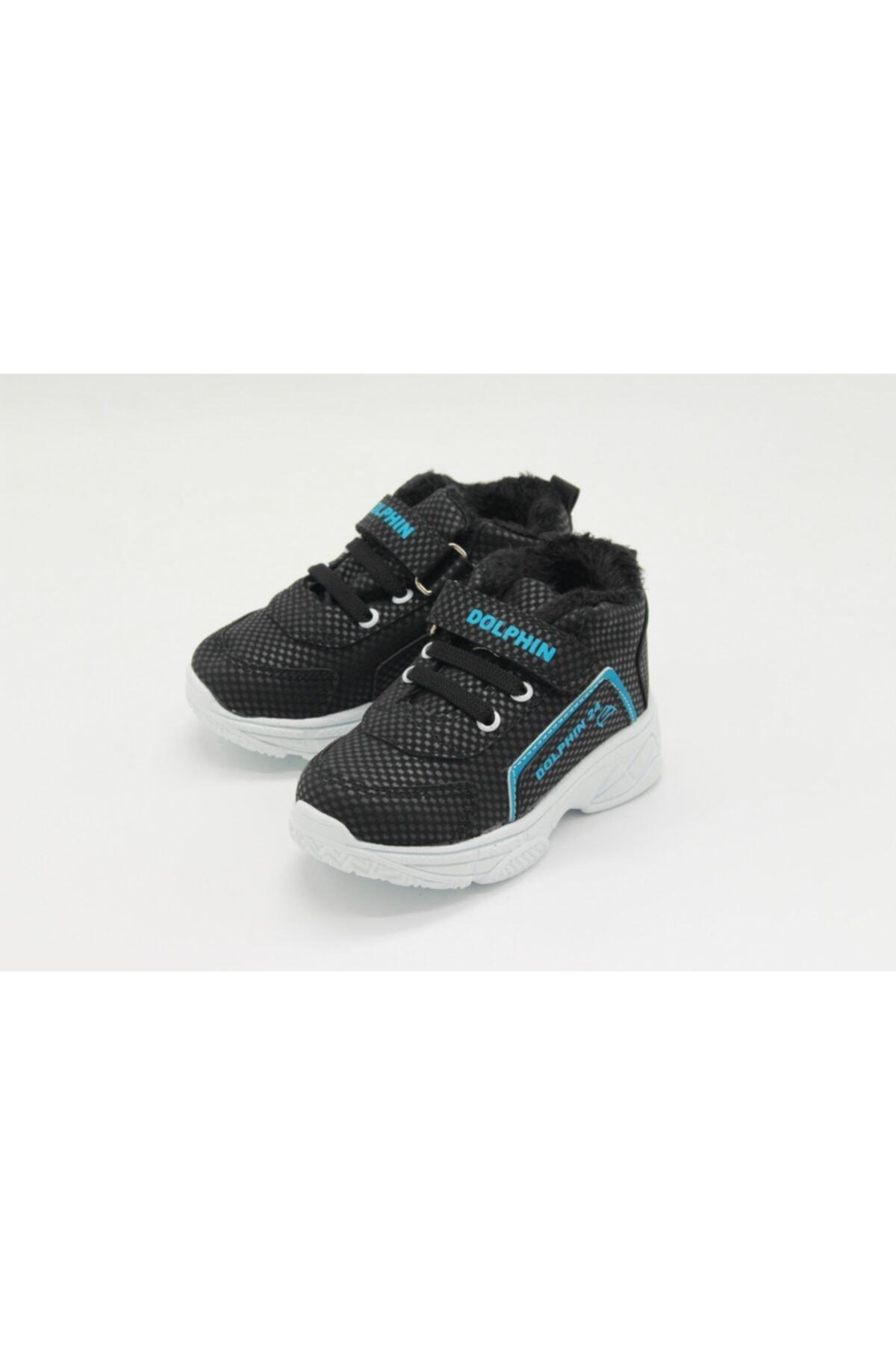 Dolphin Unisex Çocuk Siyah Sneaker 1