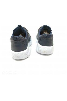 Almera Unisex Çocuk Lacivert Bağcıklı  Spor Ayakkabısı