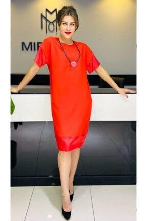 Faya Global Tekstil Kadın Mercan Günlük Elbise