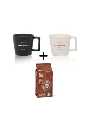 Starbucks Filtre Kahve Fincanı Seti Starbucks Ethiopia Çekirdek Filtre Kahve 250 gr