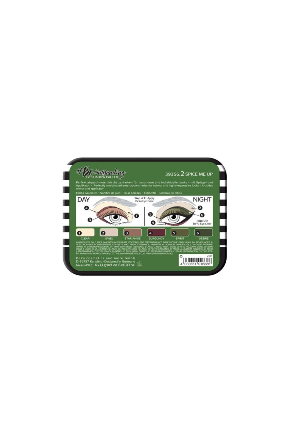 Beyu Be Outstanding Eyeshadow Palette Göz Farı Paleti 2 2