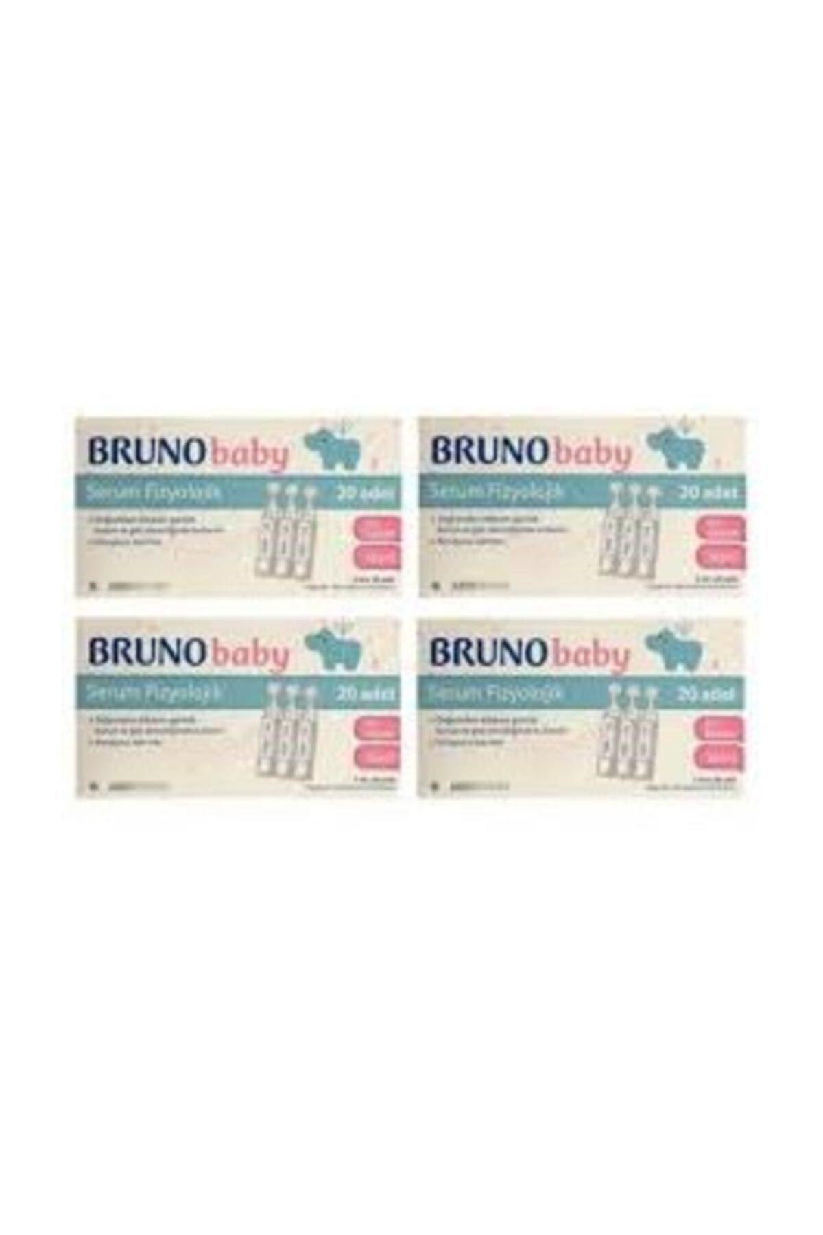 Bruno Baby Serum Fizyolojik 5 Ml 20 Flakon 4 Adet Skt:06-22 1