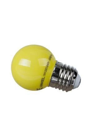 MAKEL 1w Gece Lambası Ampul - Sarı Renk
