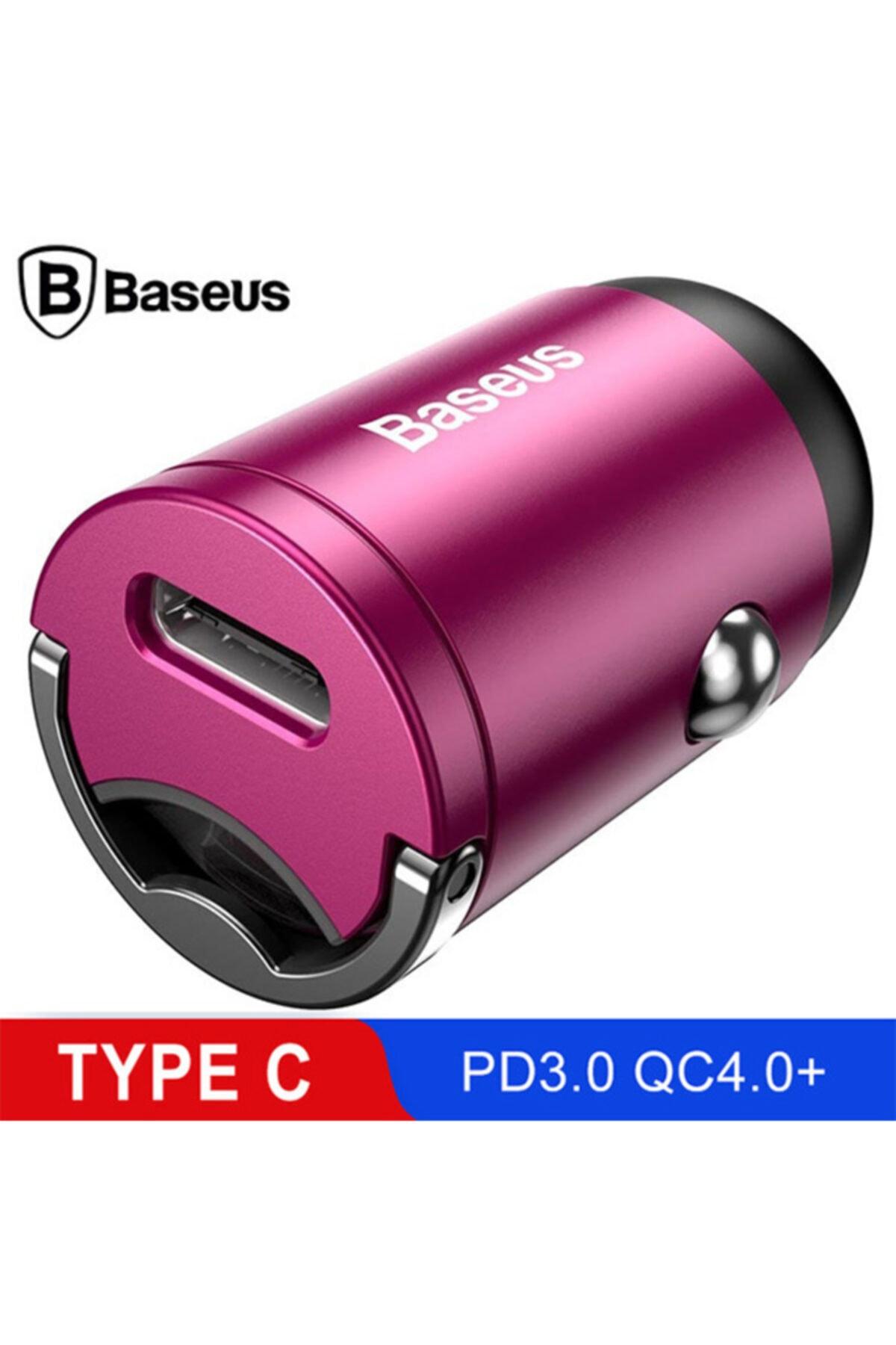 Baseus Tiny Star Mini Pps Type-c Port 30w Hızlı Araç Şarj Cihazı 2