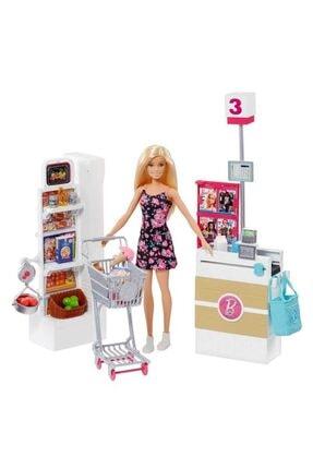 Barbie Süpermarkette Oyun Seti - Frp01