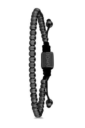 Toms Jewelry Unisex Siyah Makrome Bileklik Tmj10595-695-b