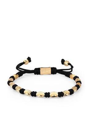 Toms Jewelry Erkek Siyah Makrome Bileklik Tmj11061-1161-g