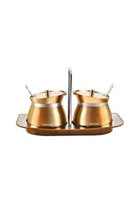 Emsan Verna 2'Li Baharat Seti  Rose Gold