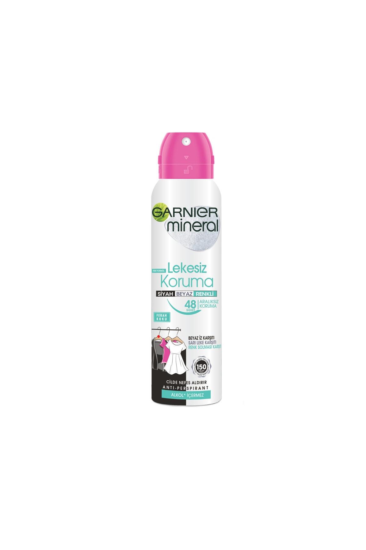 Garnier Mineral Lekesiz Koruma Sprey Deodorant 150 Ml - Alkolsüz 2