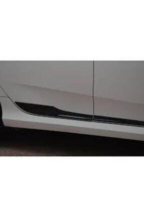 Universal Honda Civic Fc5 Pianoblack Yan Kapı Çıtaları