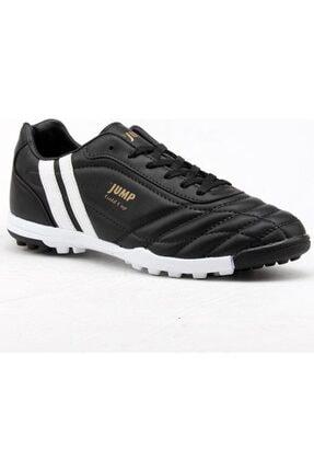 Jump Erkek Siyah Halı Saha Futbol Ayakkabısı 13258 36-44