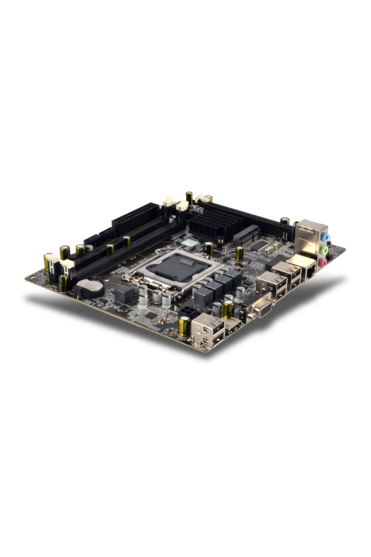 TURBOX H55 Intel H55 1600 Mhz Ddr3 Soket 1156pin Mini Itx Anakart 1