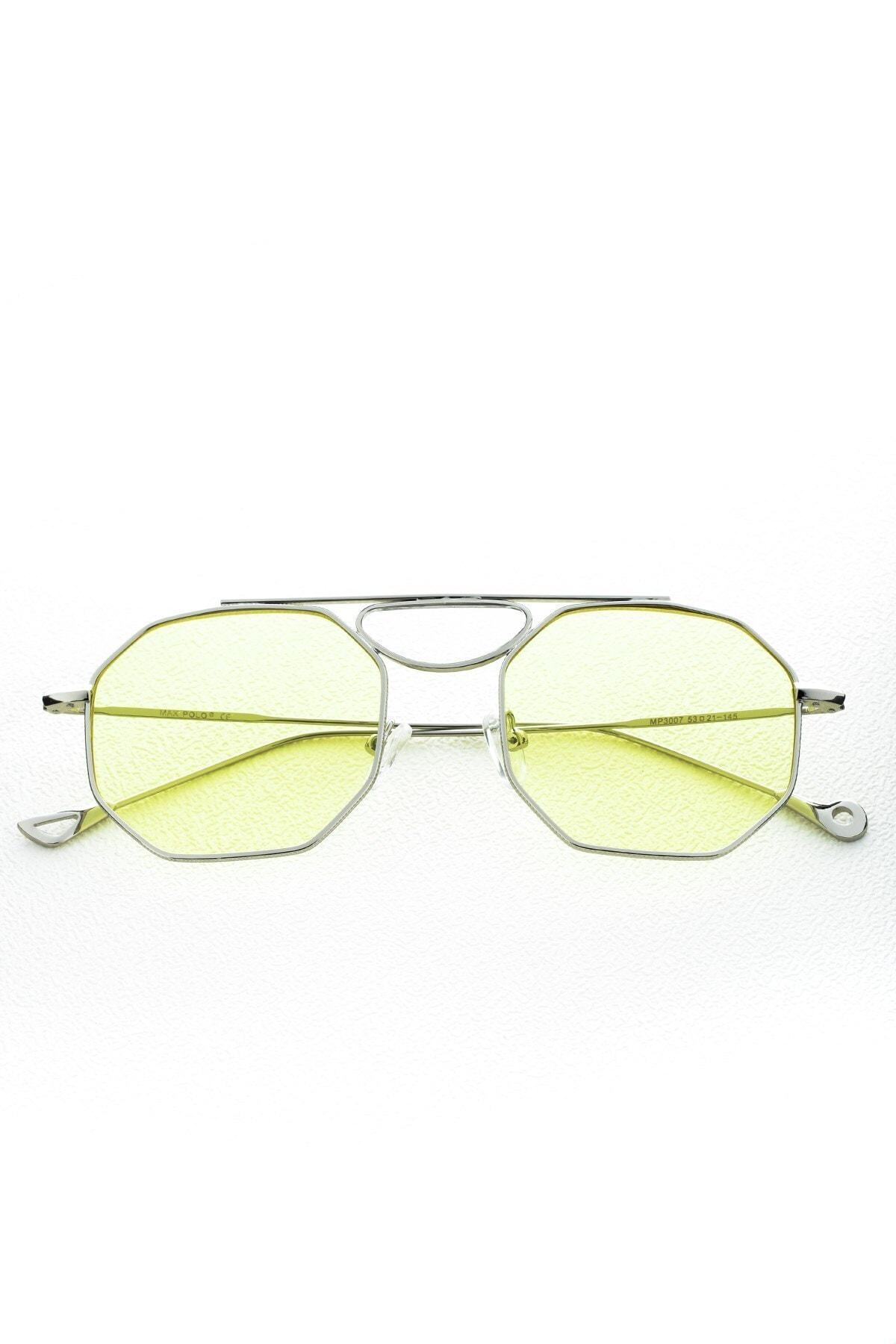 Max Polo Mp20mp3007xr004 Sarı Uv 400 Kadın Güneş Gözlüğü 2