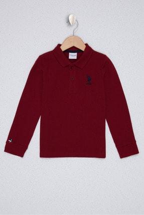 U.S. Polo Assn. Kirmizi Erkek Çocuk Sweatshirt
