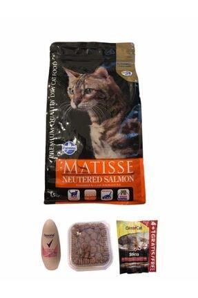 Matisse Matısse Kısır Somonlu Kedi Maması 1,5 Kg