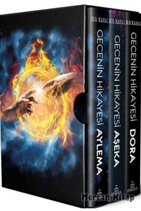 Ephesus Yayınları Gecenin Hikayesi Seti (3 Kitap) (ciltli)
