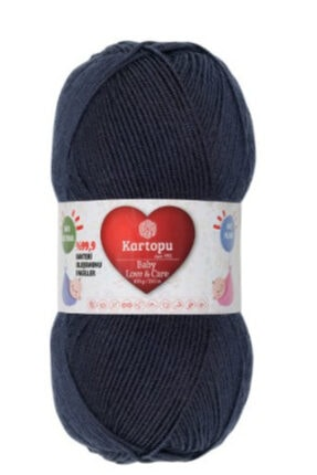 Kartopu Love & Care Antibakteriyel Renk No -633-siyah