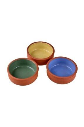 Bambum Taşev Zerde - 3'lü Sütlaç Fırın Kabı Renkli