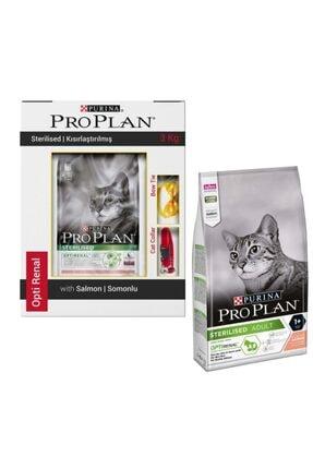 Proplan Sterilised Somonlu Kısırlaştırılmış Kedi Maması 3 Kg