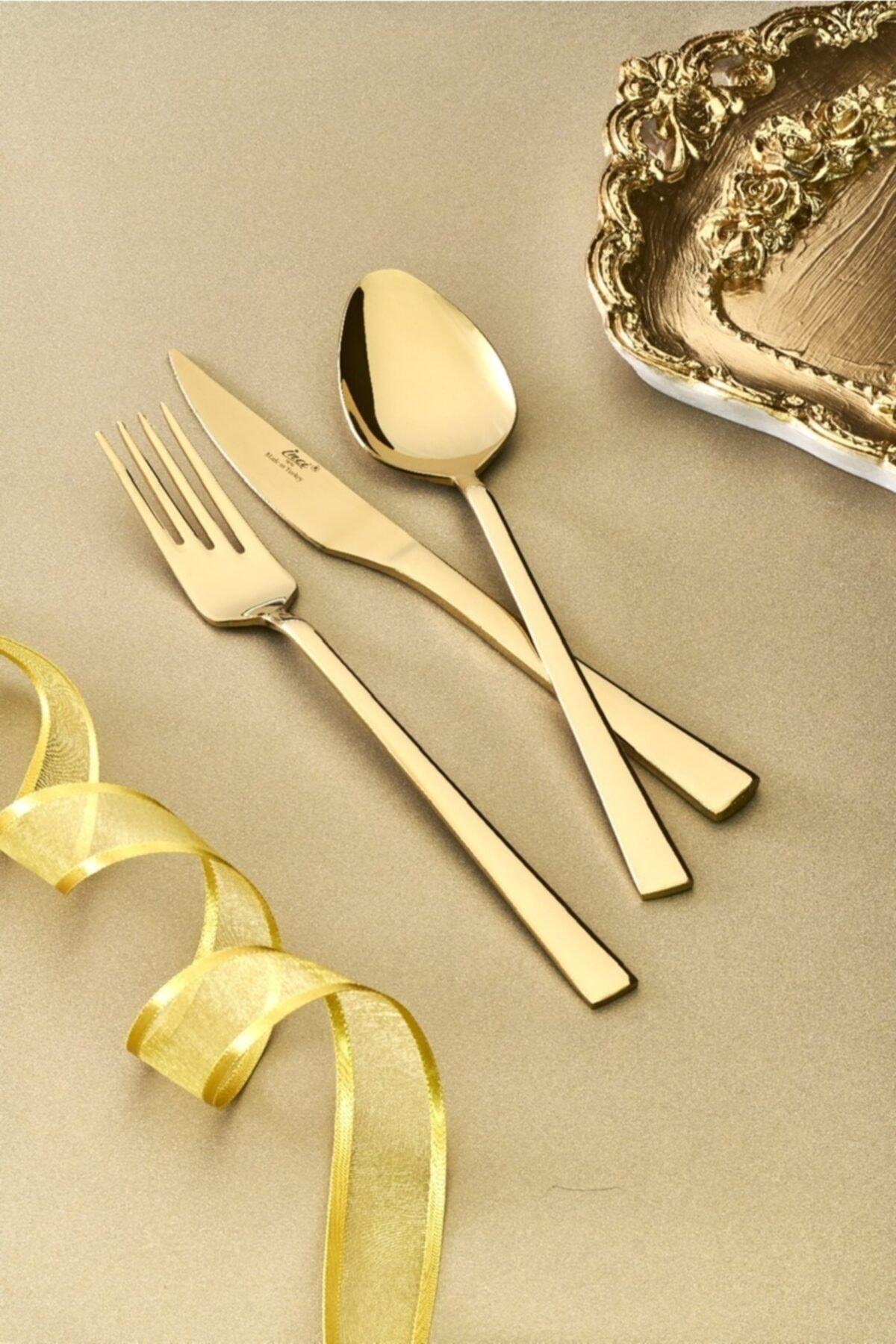 İnci Gold 36 Parça Çatal-kaşık-bıçak Seti 1