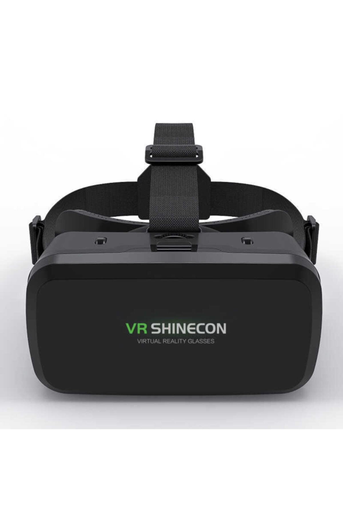 Teknoloji Gelsin Vr Shinecon 3d 720° Panoromik Sanal Gerçeklik Gözlüğü Siyah 2