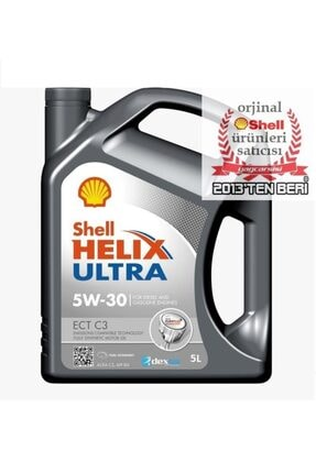 SHELL Helix Ultra Ect C3 5w30-5 Litre Mb 229.51-bmw Ll-04