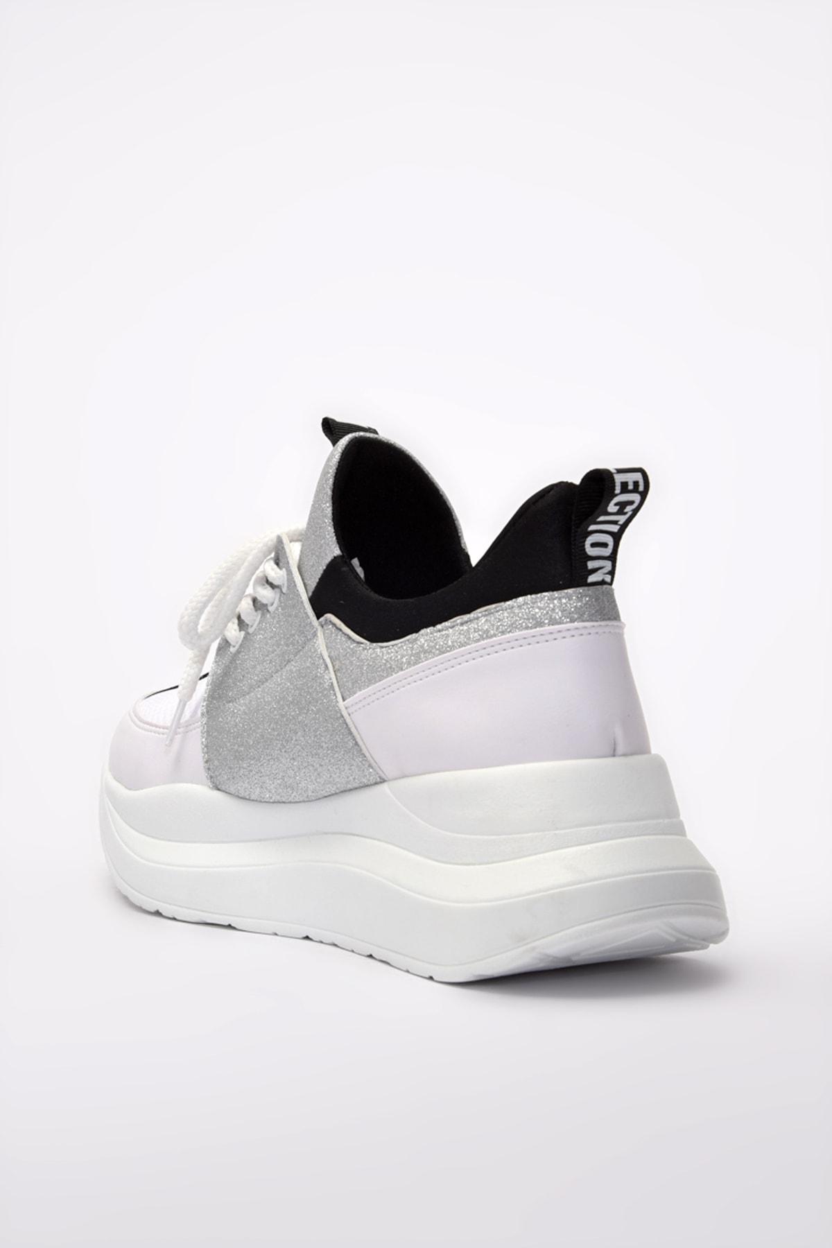 Yaya  by Hotiç Beyaz Kadın Sneaker 01AYY201180A900 2