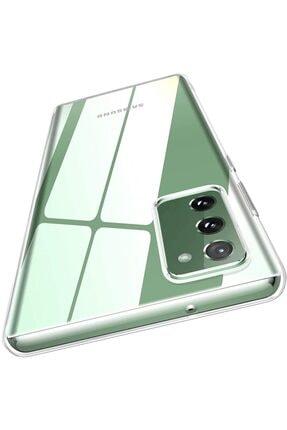 zore Samsung S20 Fe Kılıf Crystal Clear 1. Sınıf Ince Şeffaf Silikon