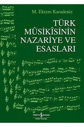 İş Bankası Kültür Yayınları Türk Musikisinin Nazariye Ve Esasları