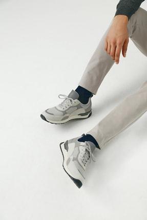 Twn Erkek Ayakkabı Gri Renk
