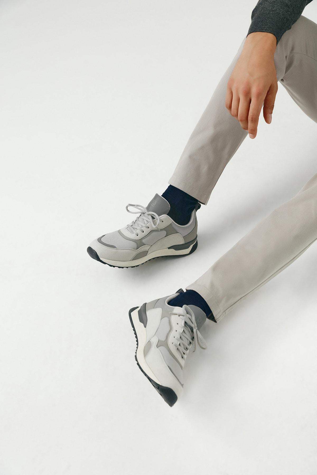 Twn Erkek Ayakkabı Gri Renk 1