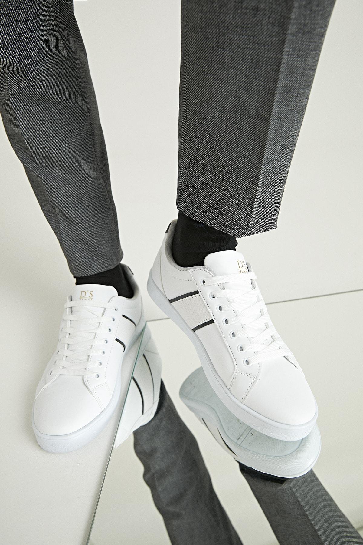 Twn Erkek Ayakkabı Beyaz Renk 1